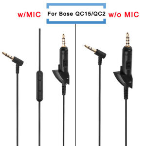 Replacement-Audio-Cable-Wire-Cord-w-Mic-For-QC15-QC2-QC3-OE2-AE2-Headphone