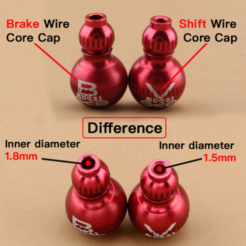 Bike Derailleur Shifter Brake Inner Line Derailleur Wire End Caps Practical QP