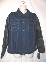 Mens Coogi Embroidered Denim Jeans Jacket Xl $72 Poly Sleeves