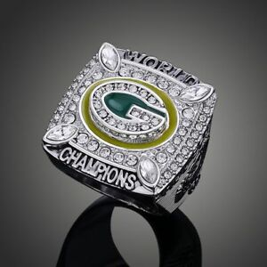 Men-039-s-Sport-Ring-2010-Green-Bay-Packers-Championship-Ring-Sport-Fans-Gift