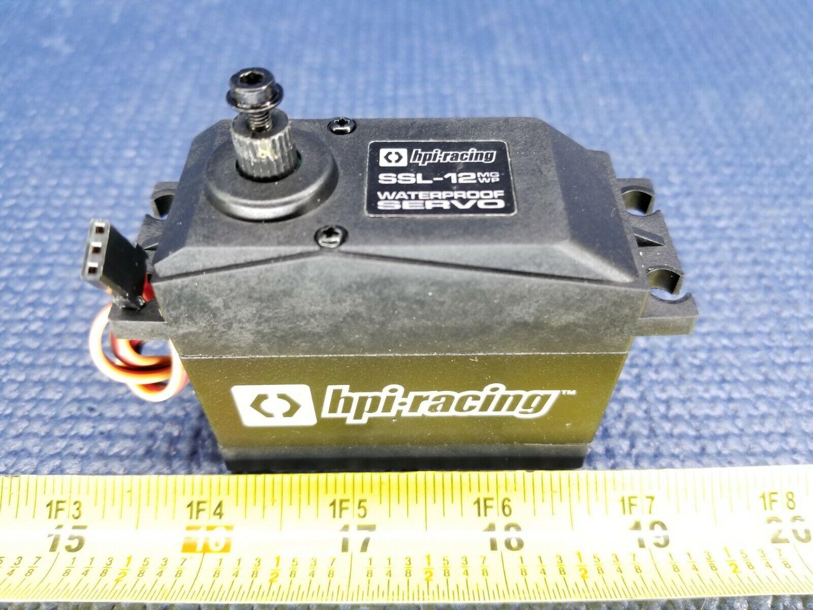 NEW HPI120020 SSL-12MGWP Servo Waterproof 7.4v  35kg Metal Geared Baja 5B  5T