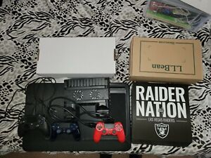 Sony playstation 4 Pro 1tb console bundle with 2 games and 3 Controllers PS4