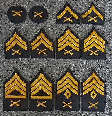 Army Rank Chevron Corporal merrowed edge pair