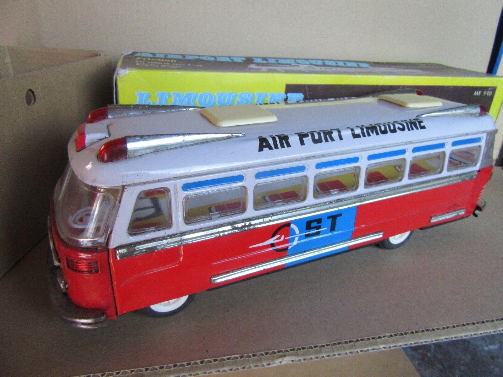 30H MF-910 Juguete Anteriores a la Fricción 1970s Bus Airport Limusina ST