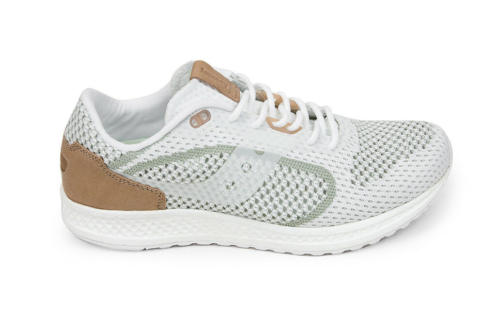 Saucony Shadow 5000 in EVR in 5000 White S70396-4 Brand New In Box Sz 8-13 Free Shipping af8415