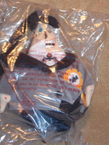 NEW NWT Disney Store The Nightmare Before Christmas  Swivel Head Mayor Plush