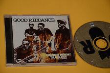 CD (NO LP ) GOOD RIDDANCE REMAIN IN MEMORY ORIG CON LIBRETTO COME NUOVO EX+ !!!!