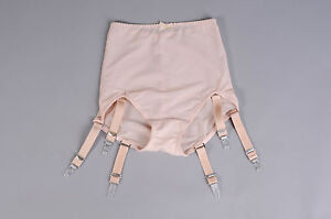 Revival-Lingerie-nude-powernet-support-girdle-6-straps-S-5XL-CLEARANCE