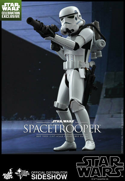 1 6 Star Wars The Force Awakens Spacetrooper MMS291 Figure Hot Toys