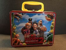 Cloudy With A Chance Of Meatballs 2 Metal Lunch Box Movie Cartoon School Supply