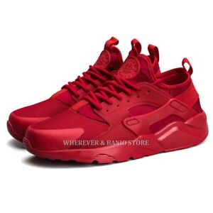 Air-Men-Athletic-Sneakers-Sport-Shoes-Casual-Running-Walking-Breathable-S12-Red