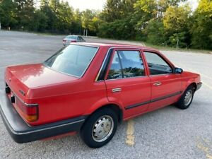 1986 Mazda 323 DX 1.6 (well preserved, MINT CONDITION) classic