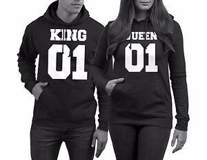 Pärchen Pullover im SET 1x QUEEN 01 für Damen + 1x KING 01 für ... e4fc18f9a5