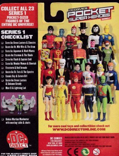DC POCKET SUPER HEROES SERIES 1 2002 MON-EL /& LIGHTNING LAD