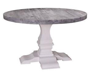 Esstisch Rund Tisch Klostertisch Massiv Holz Landhaus 130cm