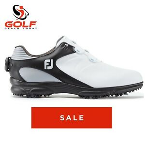 Footjoy-Arc-XT-BOA-Golf-Shoes-Black-White-New