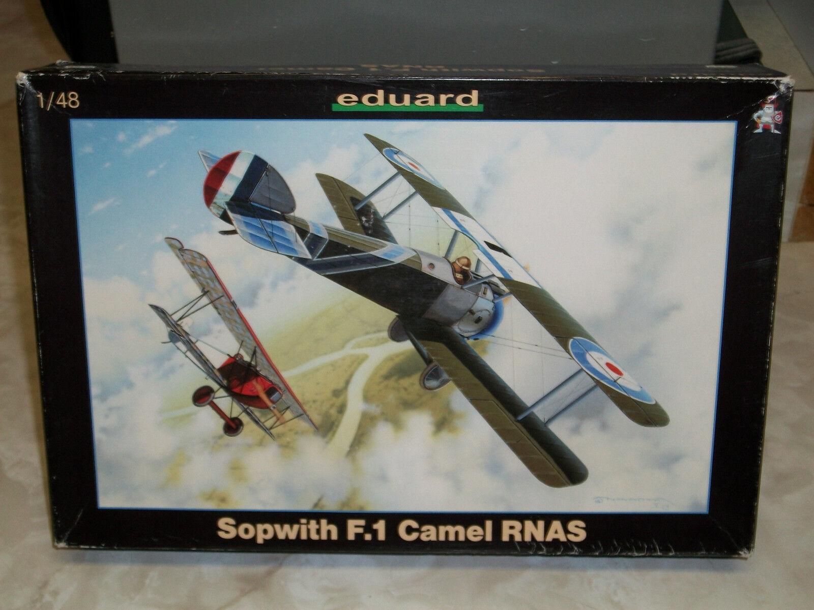 Eduard 1 48 Scale Sopwith F.1 Camel RNAS