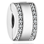 NEW Fashion European CZ Charm Crystal Spacer Beads Fit Necklace Bracelet !!