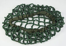 WWII US ARMY M1 HELMET COVER COTTON CAMOUFLAGE NET GREEN