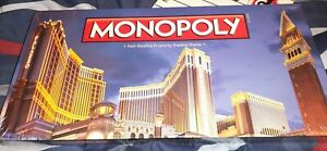 Hasbro - Monopoly - Limited Edition Venetian Palazzo Las Vegas Edition - Sealed