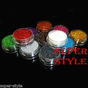 3g loose glitter pots face body nail art craft make up eye. Black Bedroom Furniture Sets. Home Design Ideas