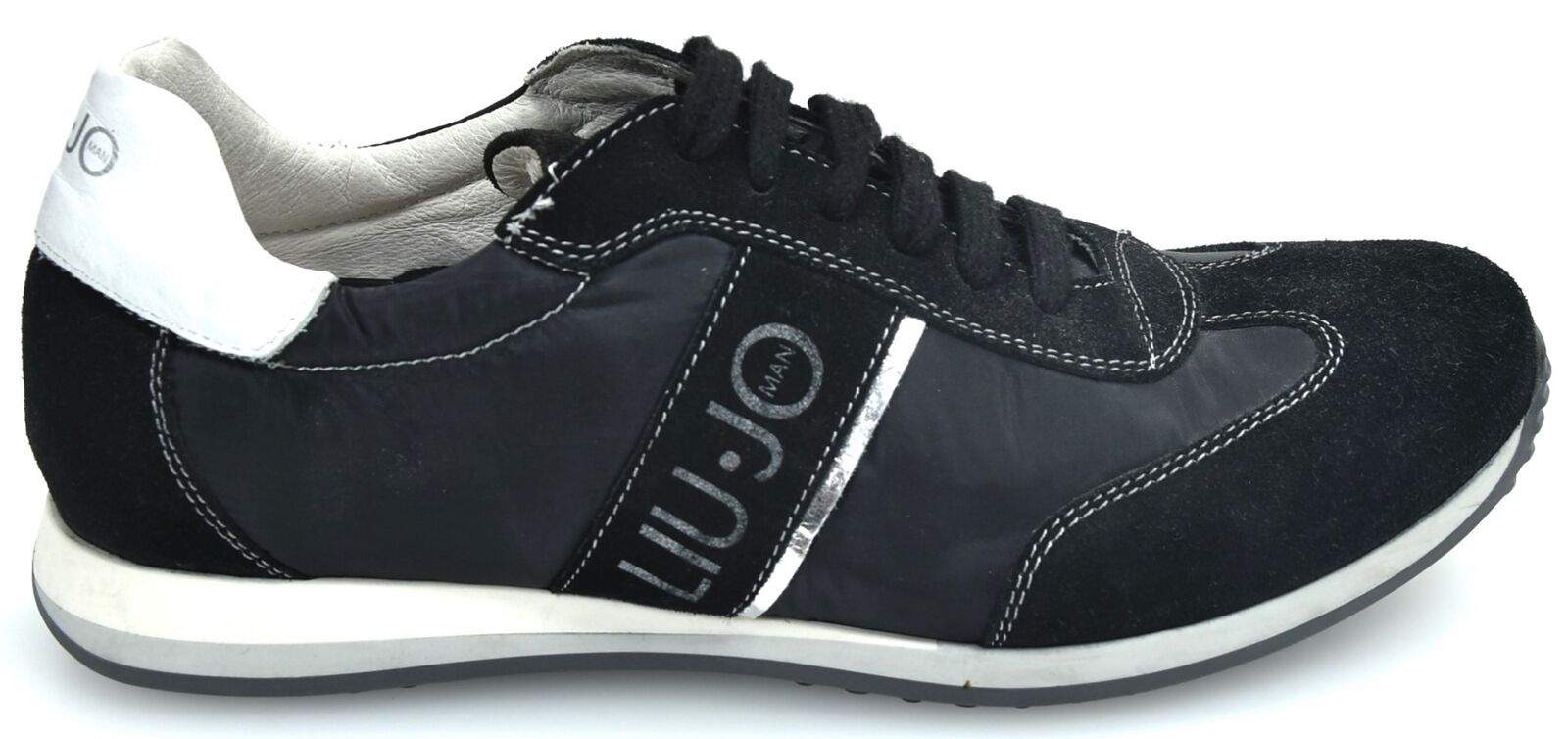 LIU-JO MAN FREE TIME CASUAL SNEAKER SHOES MADE IN ITALY CODE LJ 418