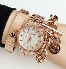 67ba244a10fa item 4 Michael Kors Watch Women s Mk3237 Nini Stainless Steel in color Rose  Gold New -Michael Kors Watch Women s Mk3237 Nini Stainless Steel in color  Rose ...