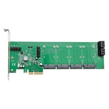 Mouse Pad BundleDeal: PCI-e x4 slot Card, up to 4 SATA III HD, 4-Port, mSATA SSD