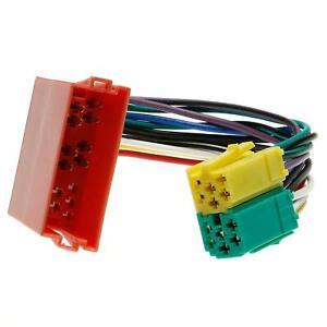 Adapter-Kabel-Mini-ISO-Buchse-auf-Mini-ISO-Stecker-Stecker-Verteiler-fuer-Audi