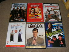 6 x comedy movies on DVD Wild Hogs, Mallrats, Little Britain, School Of Rock