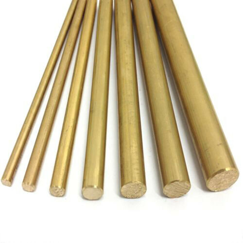 4//8//10//12mm Dia Barre ronde laiton matériel tube circulaire fil Rod Maquettisme