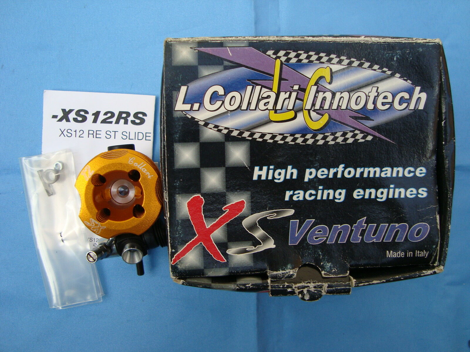 Brand New L.Collari Innotech XS12RS High Performance Racing Engine Made in ITALY