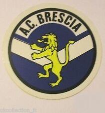 ADESIVO ORIGINALE anni '80 _ A.C. BRESCIA Calcio (cm 9) Old Sticker Vintage