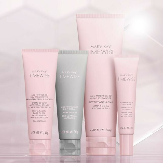 MARY KAY TIMEWISE MIRICLE SET 3D NORMAL / DRY SKIN FULL