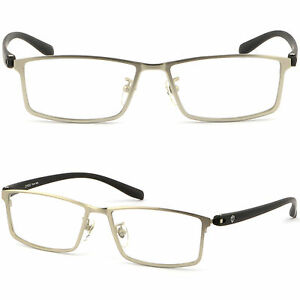 Mens Womens Titanium Frames Prescription Glasses UV ...