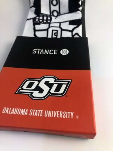 Details about  /MENS STANCE CREW HEIGHT Oklahoma State University CASUAL SOCKS SIZE Medium 6-8.5