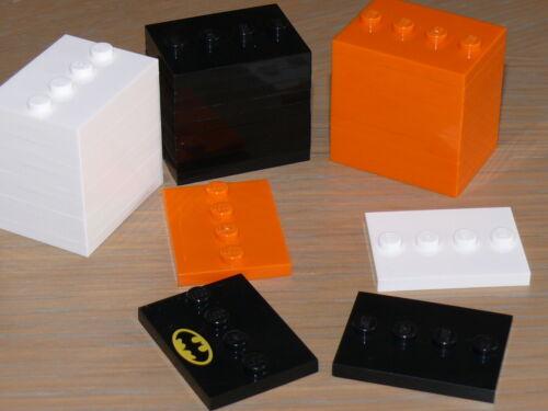 LEGO 17836 Socle Plaque Support Minifigure Série Plate 3x4 Tile 4 Studs NEUF !