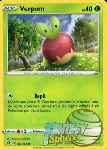021//192 Carte Pokemon Neuve Française EB02:Clash des Rebelles Verpom
