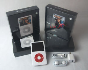 Apple-iPod-classic-Video-5th-Gen-U2-Special-Edition-White-30GB-90days-Warranty