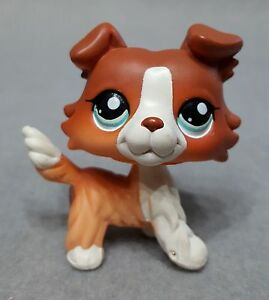 Lps Brown Cat With Blue Eyes