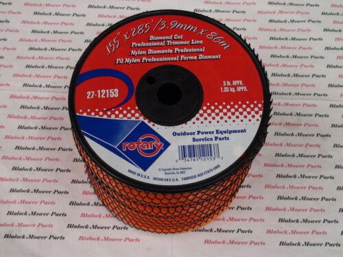"spool .155/"" X 285/' USA Made 12153 Diamond cut Professional Trimmer line 3 lb"