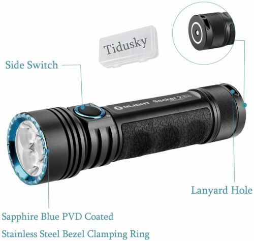 OLIGHT Seeker 2 Pro 3200 Lumens Tactical Torches Rechargeable EDC Flashlight