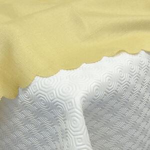 Molton-Tischschoner-Tischdeckenunterlage-Schutzunterlage-Tischschutz-Gepraegt