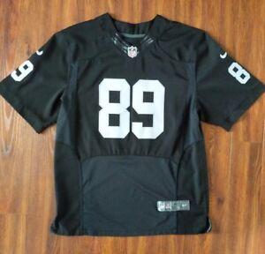 479a2f0dc99 NIKE ~ NFL Men's Oakland Raiders Amari Cooper #89 Black Sewn Game ...