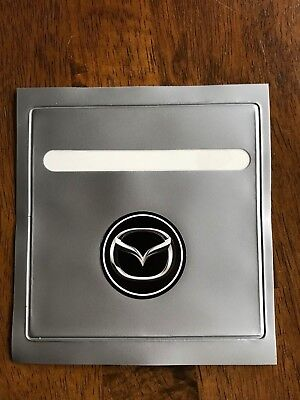Grey Car Parking Permit Holder Road Tax Disc Holder Easy Fit /& Removal