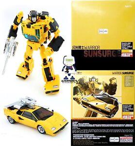 Ambitieux Transformers Masterpiece Badcube Ots-08 Sunsurge Également Appelé Mp Sunstreaker En Parfait état, Dans Sa Boîte-afficher Le Titre D'origine Utilisation Durable