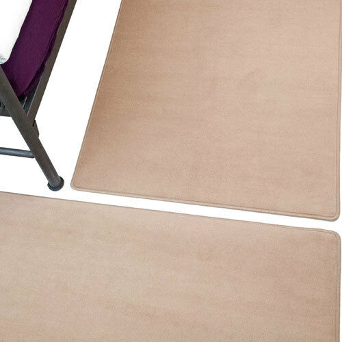 Bijou sand Bettumrandung von Vorwerk 2 Teile 70x140 cm + 1 Teil 70x340 cm