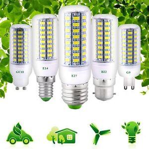 E27-B22-E14-G9-GU10-LED-Corn-Bulb-Light-5730-SMD-7W-30W-Lamp-AC-220-110V-Lights