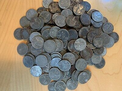 1909-1958 cents unsearched 1000+ Wheat Pennies from bulk hoard circulated