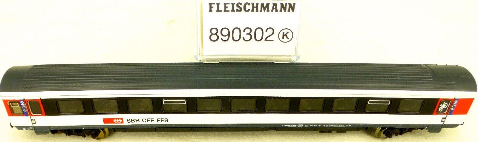 FLEISCHMANN 890302 SBB Vagone treno direttissimo TIPO EW IV EpVI N 1:160 conf.